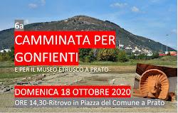 6a Camminata per Gonfienti, 18-10-2020