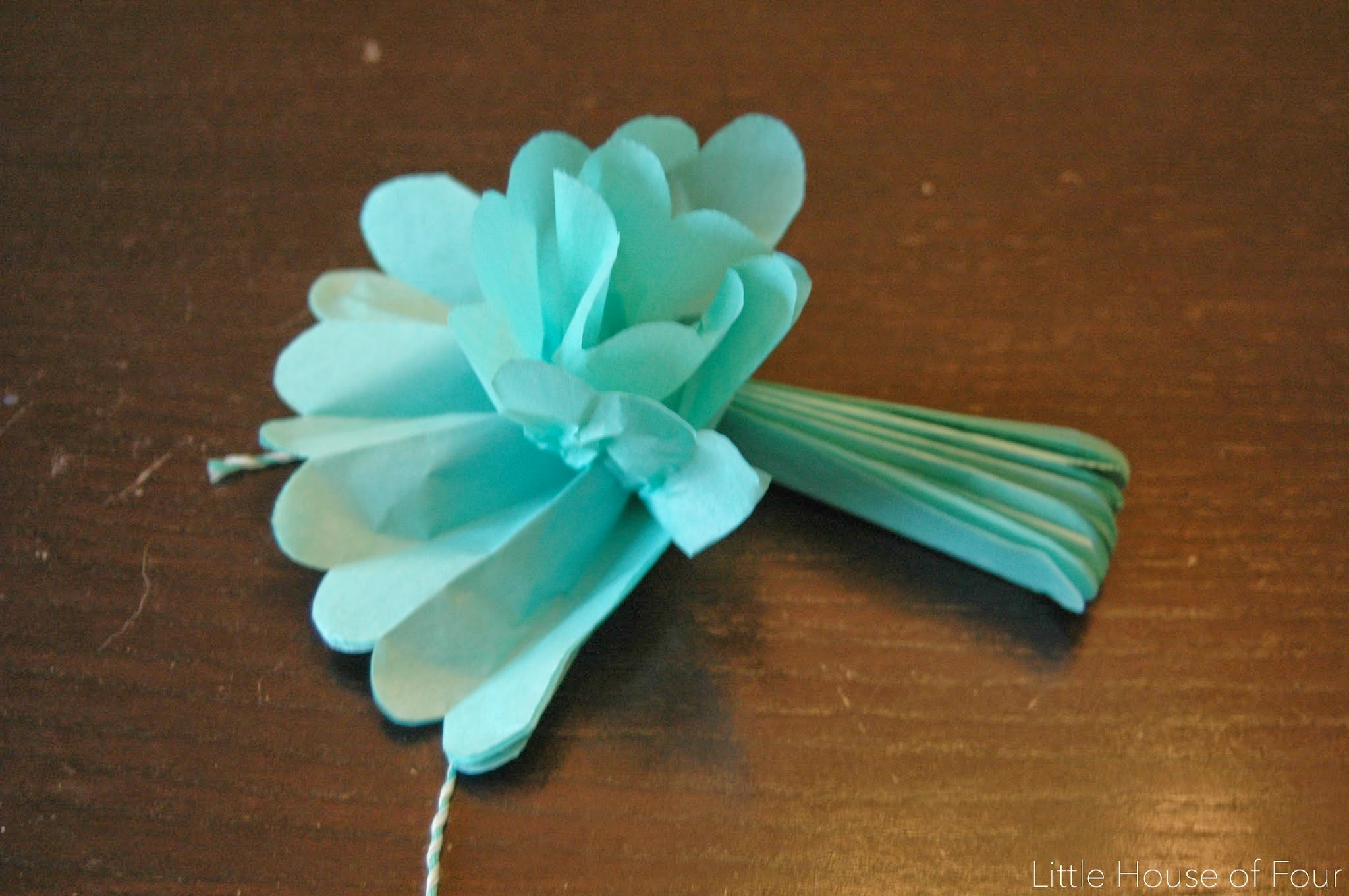 Easy Tissue Paper Flowers Little House Of Four Creating A