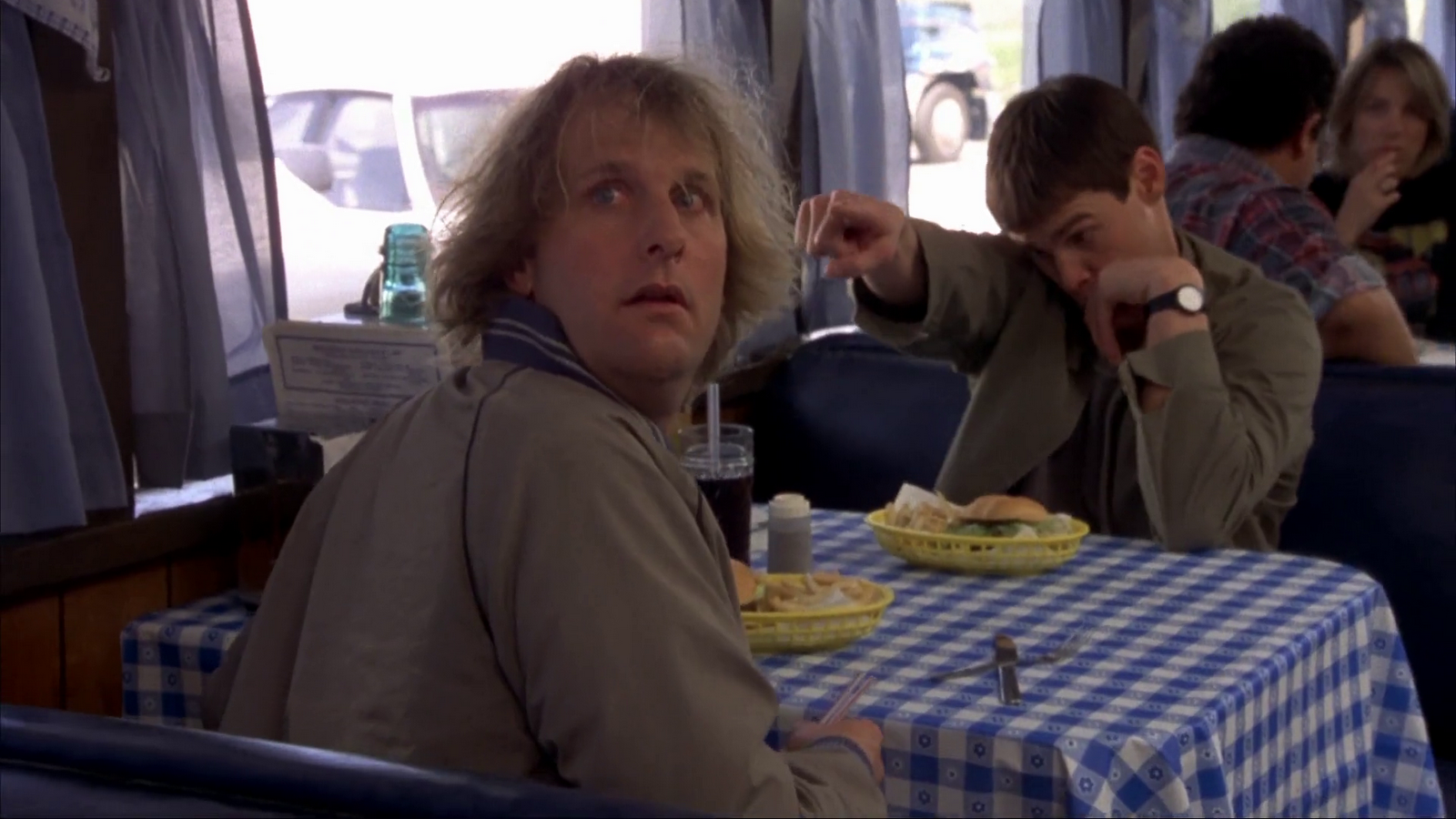 Thoughts of the cool 50 dumb and dumber for Jeff daniels bathroom scene