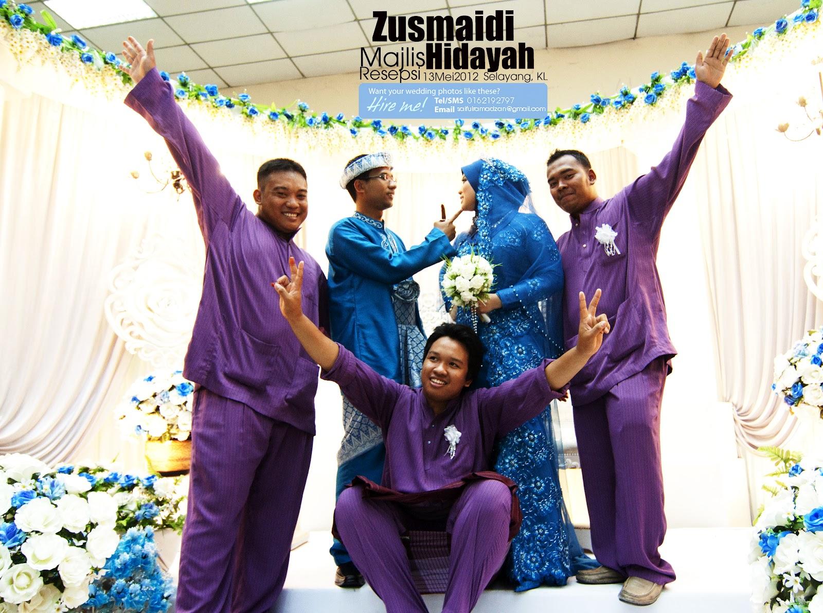Solemnization of Hidayah+Zusmaidi | 12Mei2012 | Selayang,KL