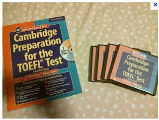 Sampul buku Cambridge Preparation for the TOEFL Test iBT