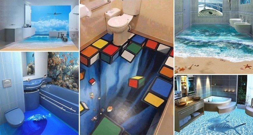 3D Floor On Interior 2