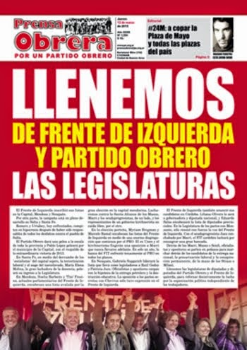 Prensa Obrera Nº 1354