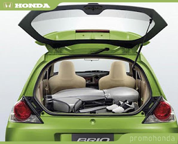Gambar Honda Brio Bagasi