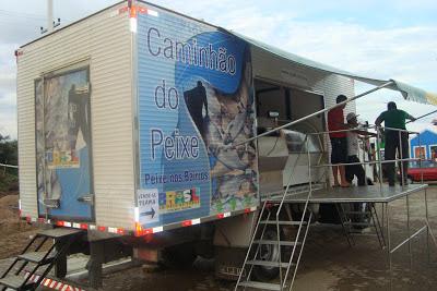 Esclarecimento: Projeto caminhão do peixe em Senador Sá