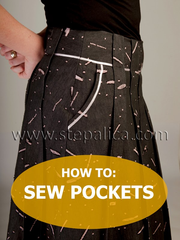 Zlata skirt sewalong: #8 Sew the pockets