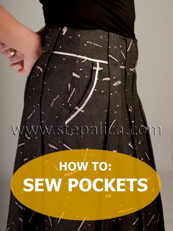 Zlata skirt sewalong: #8 Sew the pockets
