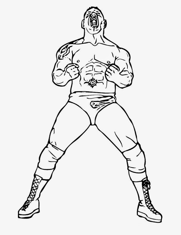 wwe coloring pages online Reviewed by IisBetoQ on Thursday, June 20  title=