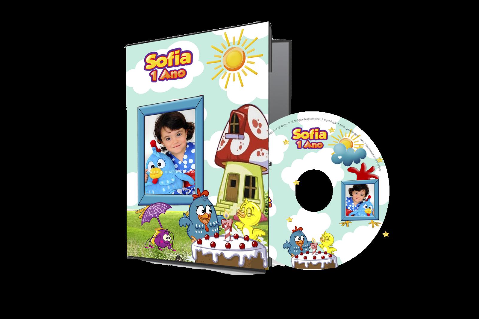 Capa de DVD Galinha Pintadinha