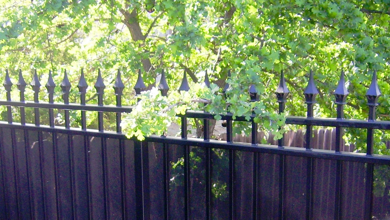 Wrought iron designs privacy screening