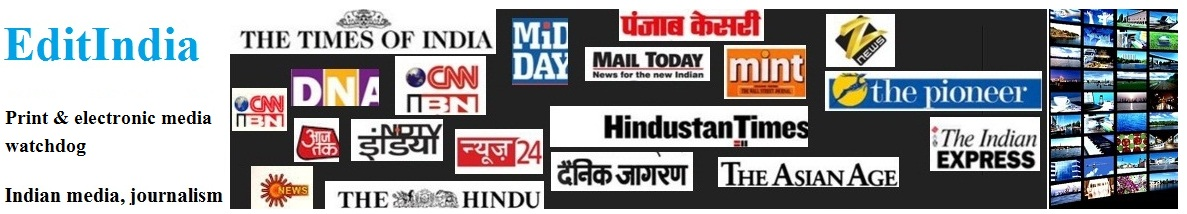 EditIndia: Indian Media Journalism Website