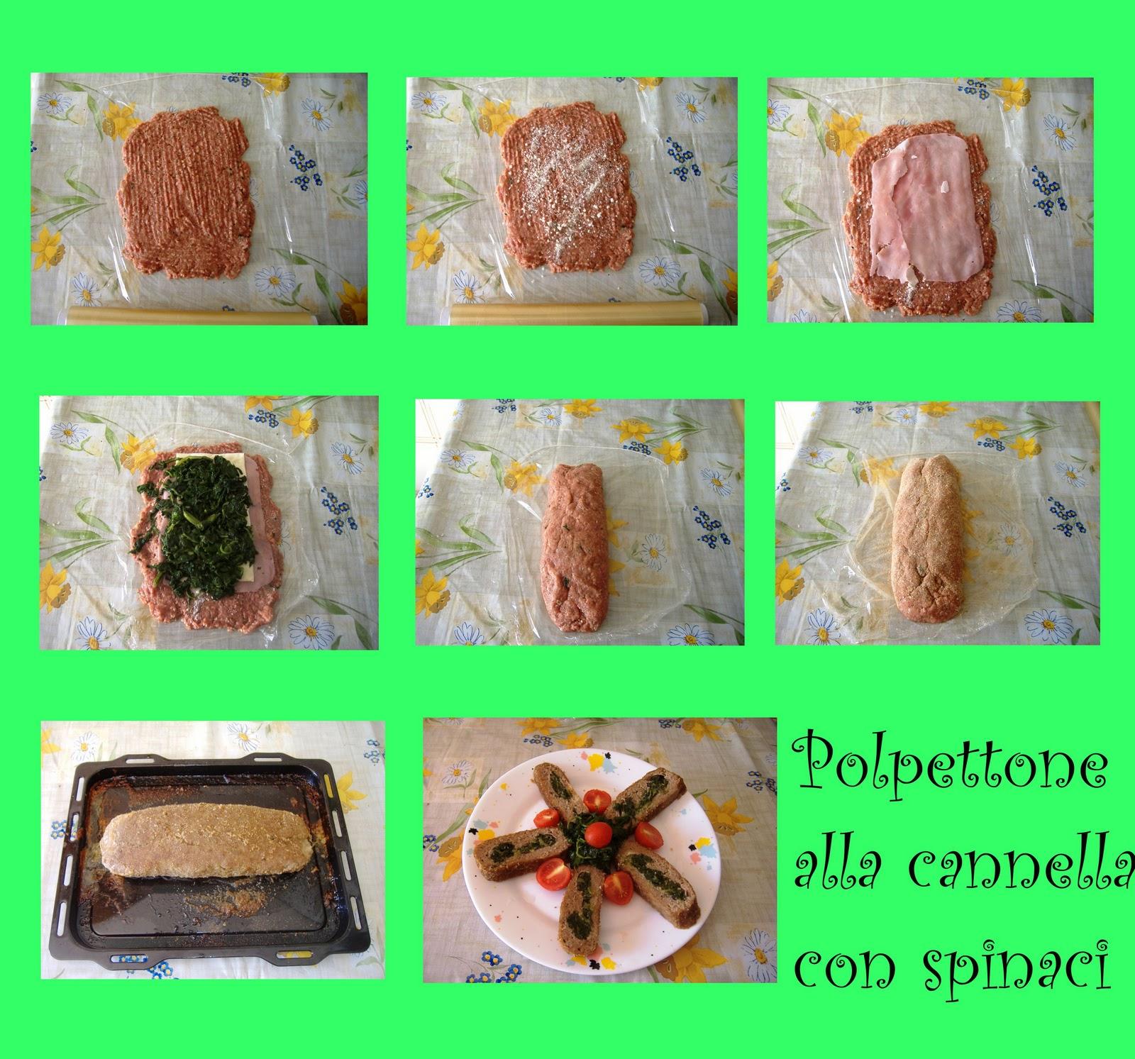 Appunti Di Cucina: Polpettone Di Spinaci Al Profumo Di Cannella #01CA35 1600 1493 Polpettone Classico Cucina