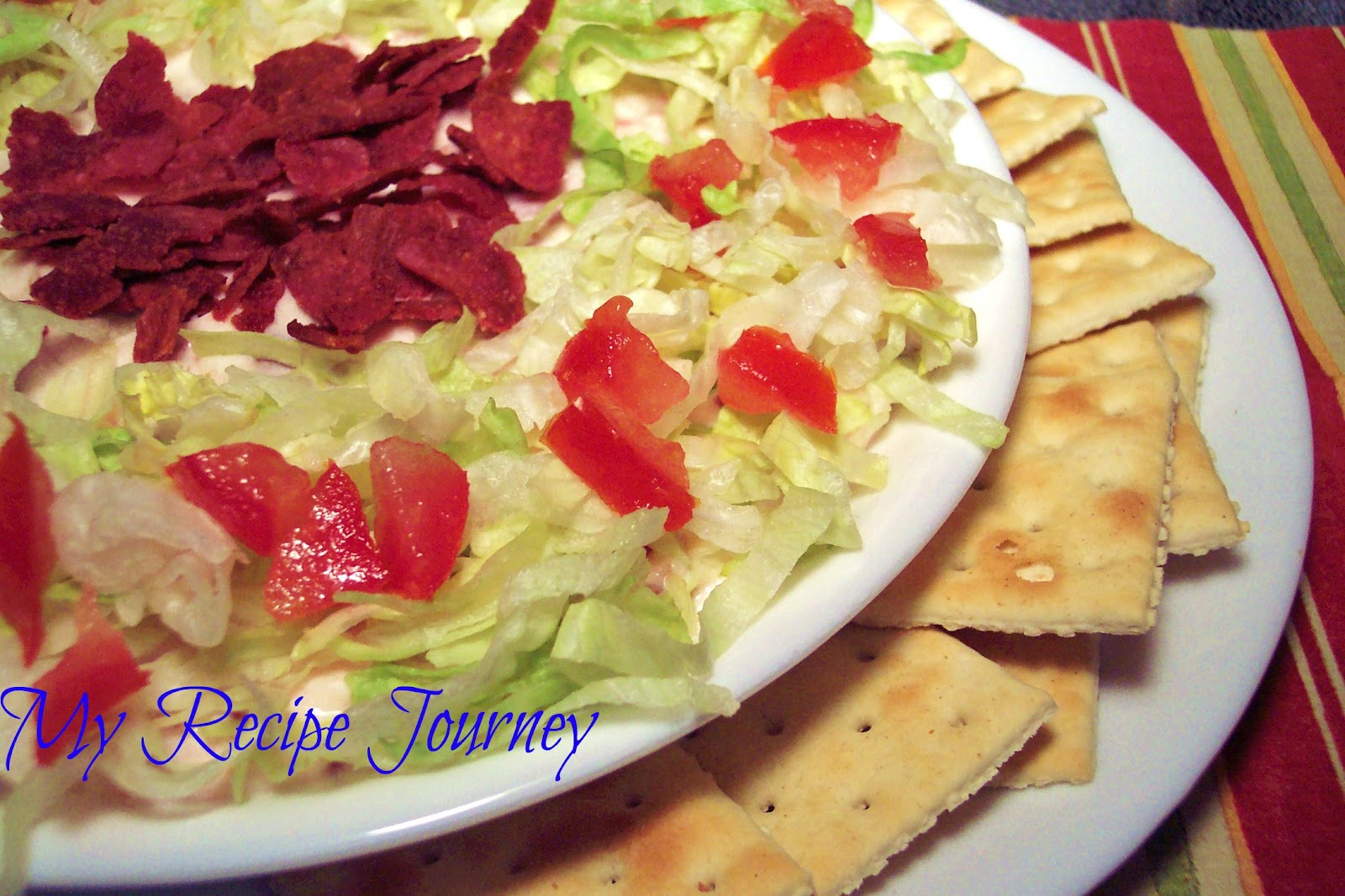 My Recipe Journey: BLT Dip...My New Favorite Dip! And Low Fat Too!