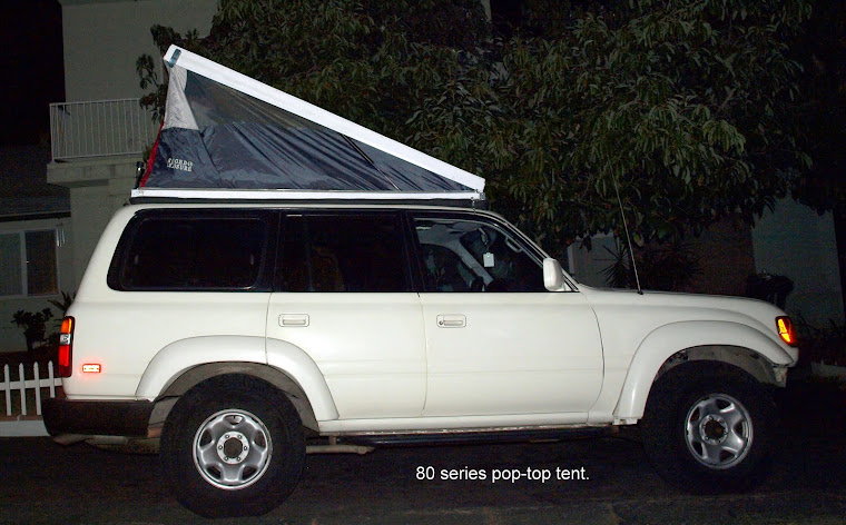 80 series pop top side elevation