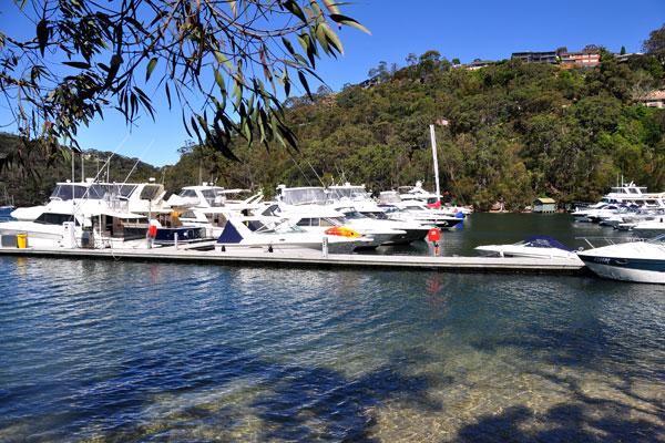 marina at echo point park