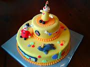 Tijden onze vakantie kwam het verzoek een taart te maken voor Sophie.