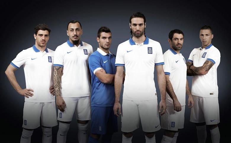 Greece+2014+World+Cup+Home+and+Away+Kits