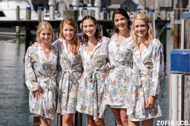 Plum Pretty Sugar Bridesmaids Robes