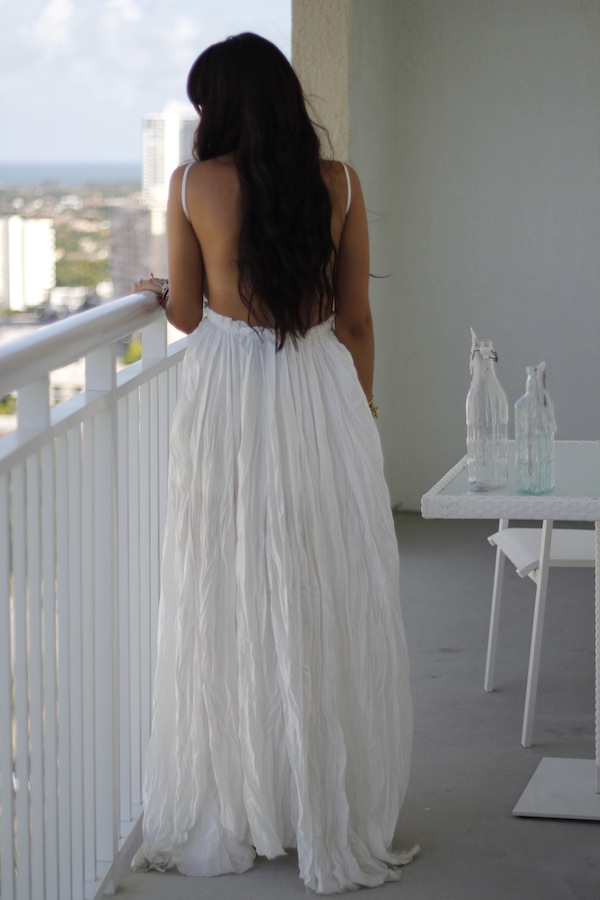white baby shower dresses a long flowy white dress
