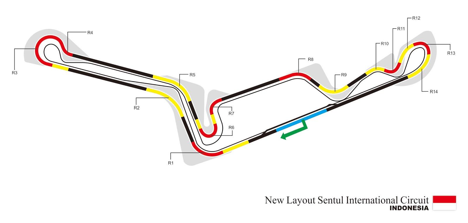 Circuit Sentul : Inilah layout baru sirkuit sentul wesbiasa