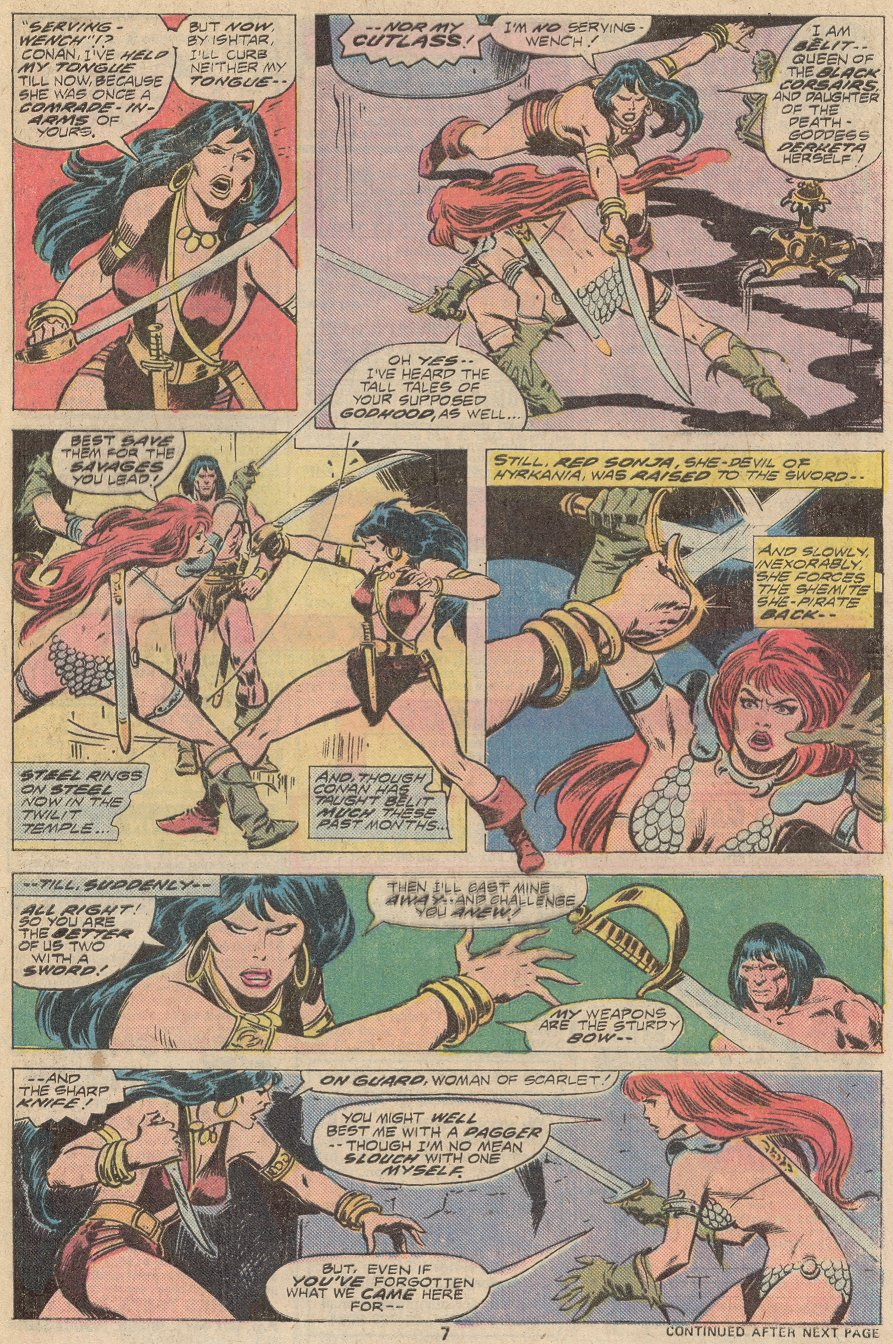 Conan the Barbarian (1970) Issue #67 #79 - English 6