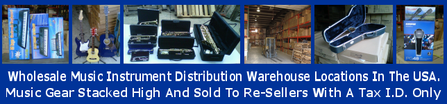 distributor wholesale music gear musical accessories USA