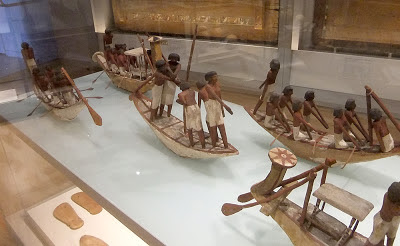 ancient egyptian wooden ships Boston Museum of Fine Arts Djehutynakht