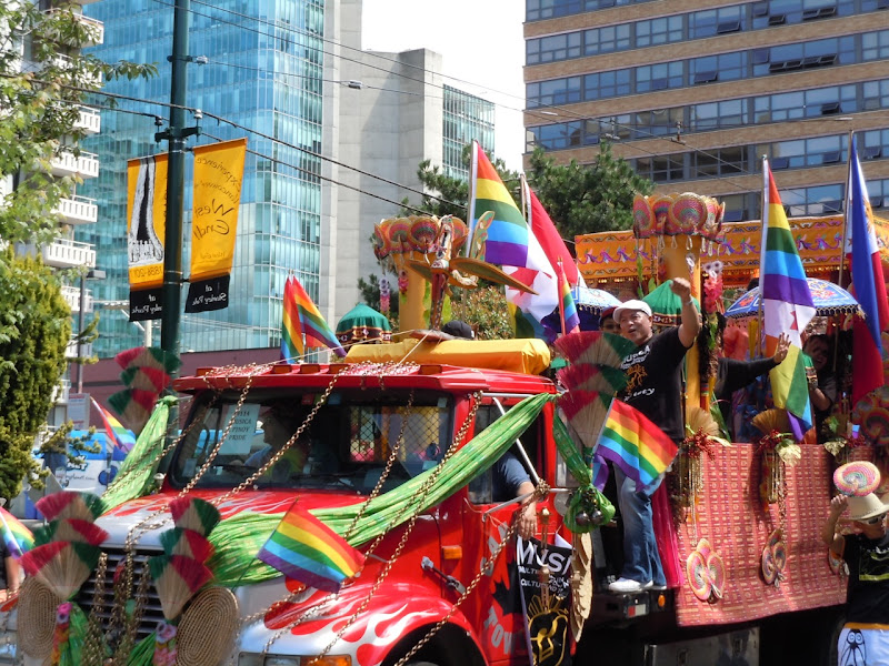 33rd Vancouver Pride Parade float