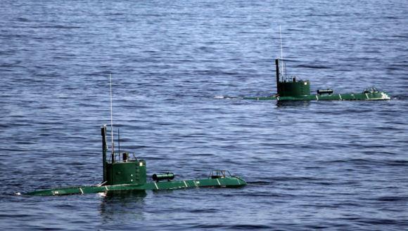 Armada kapal selam Qadir (Ghadir) Angkatan Laut Iran