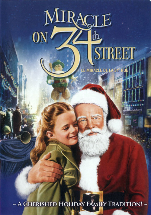 Passion for movies miracle on 34th street Classic christmas films black and white