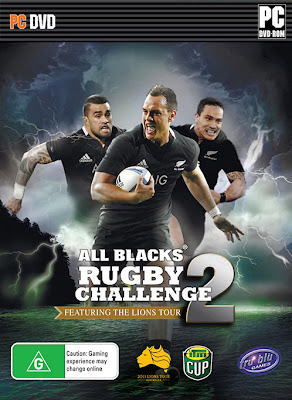 Rugby Challenge 2: The Lions Tour Edition PC Cover