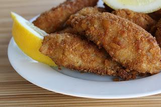 السمك المقلي