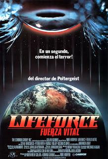 Fuerza Siniestra / Lifeforce: Fuerza Vital Poster
