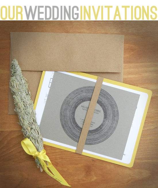 DIY wedding invitations It 39s been quite a while since my last wedding post