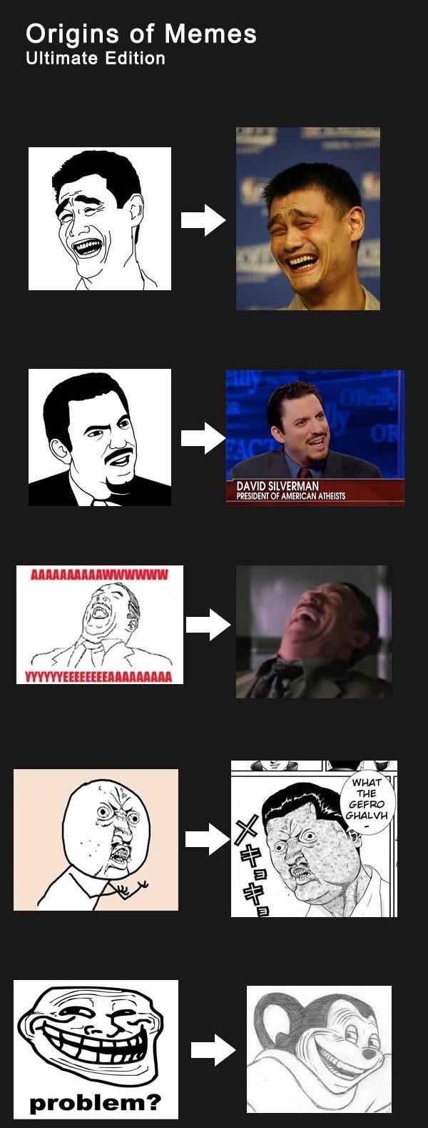 Origins Of Memes