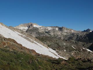 Mount Conness und sein langer Ostgrat