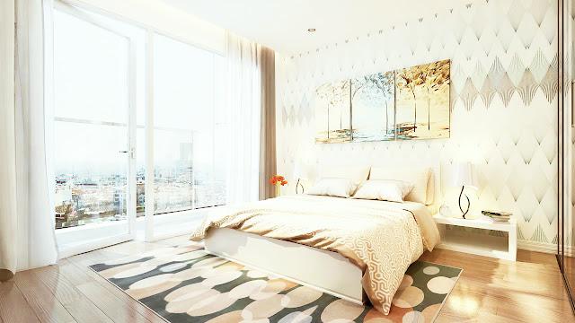 Giường ngủ ở Eco Green City