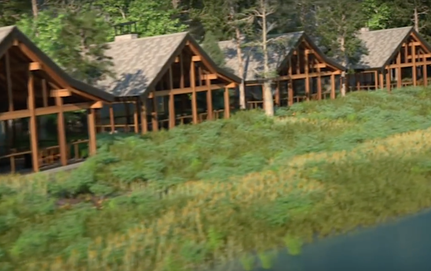 26 waterfront cabins opening july at copper creek disney for Copper creek villas cabins