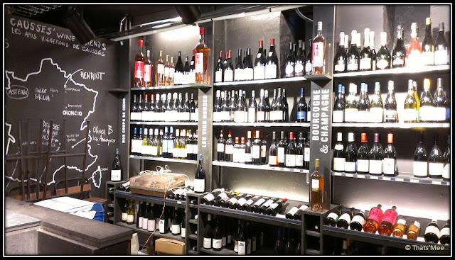 cave vin CAUSSES, alimentation générale Notre dame de lorette Pigalle Paris