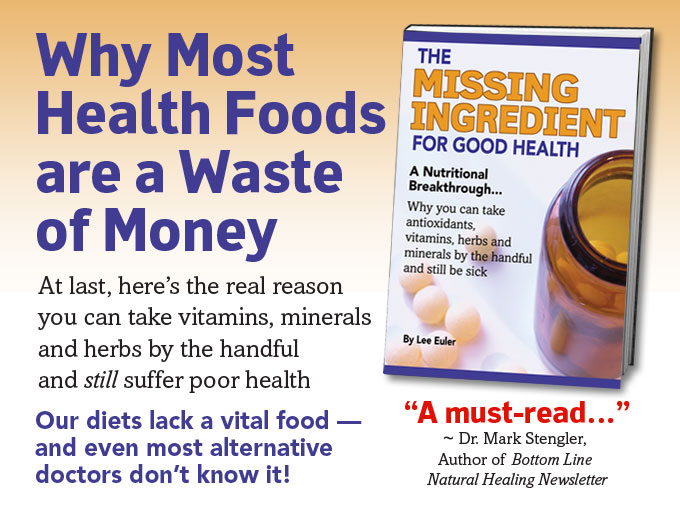 Why Most Health Foods are a Waste of Money