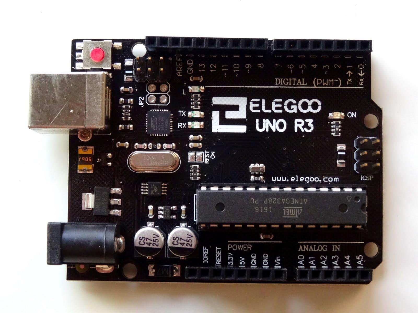 Mitov software assembling elegoo smart robot car kit step