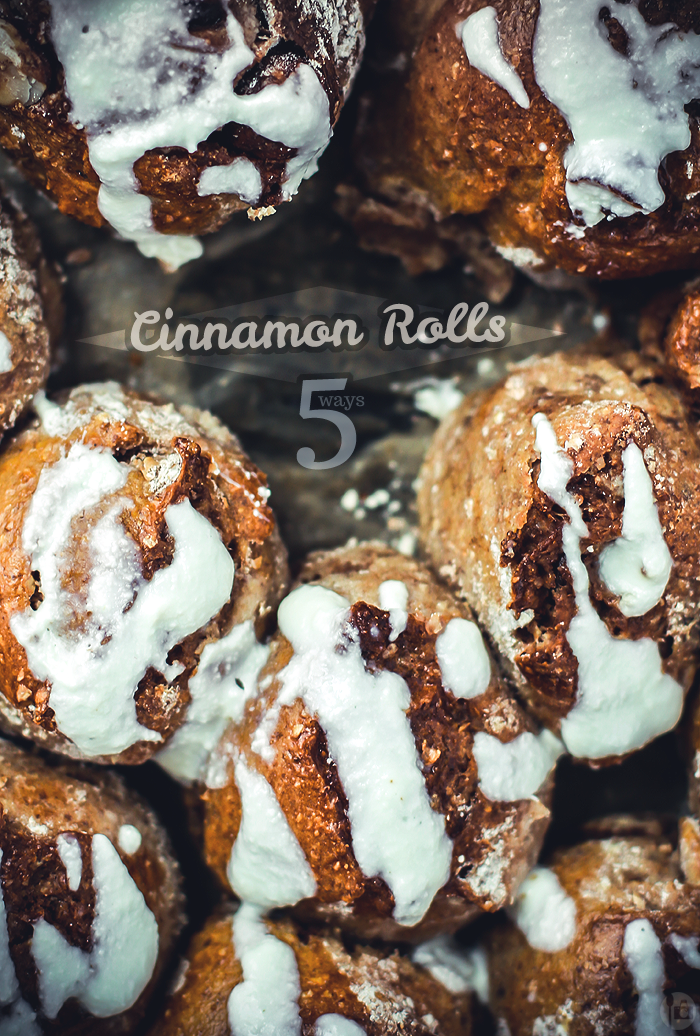 Cinnamon Rolls close-up
