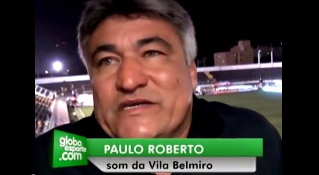 Morre o voz da Vila Belmiro Paulo Roberto