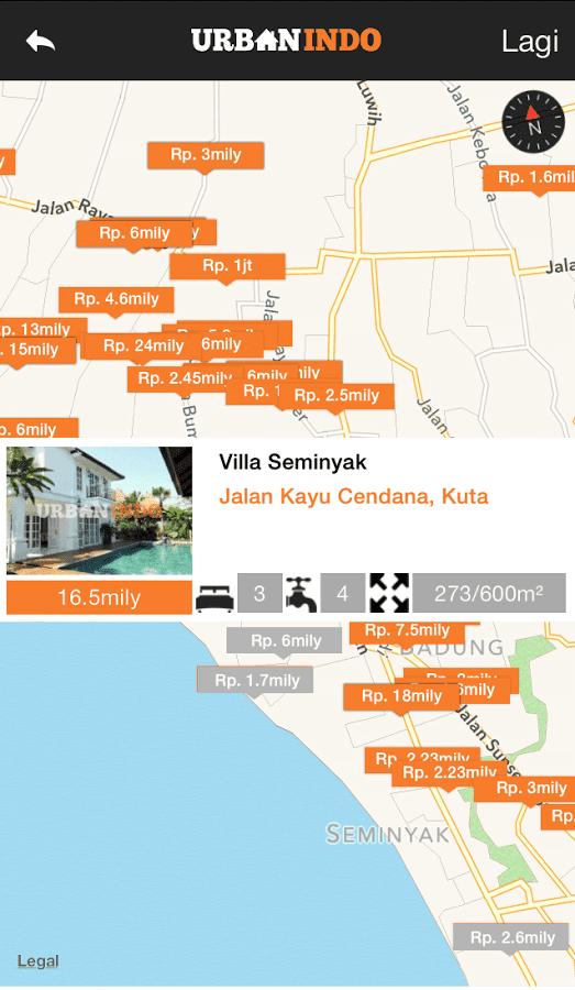 Aplikasi Jual Beli Rumah di Android