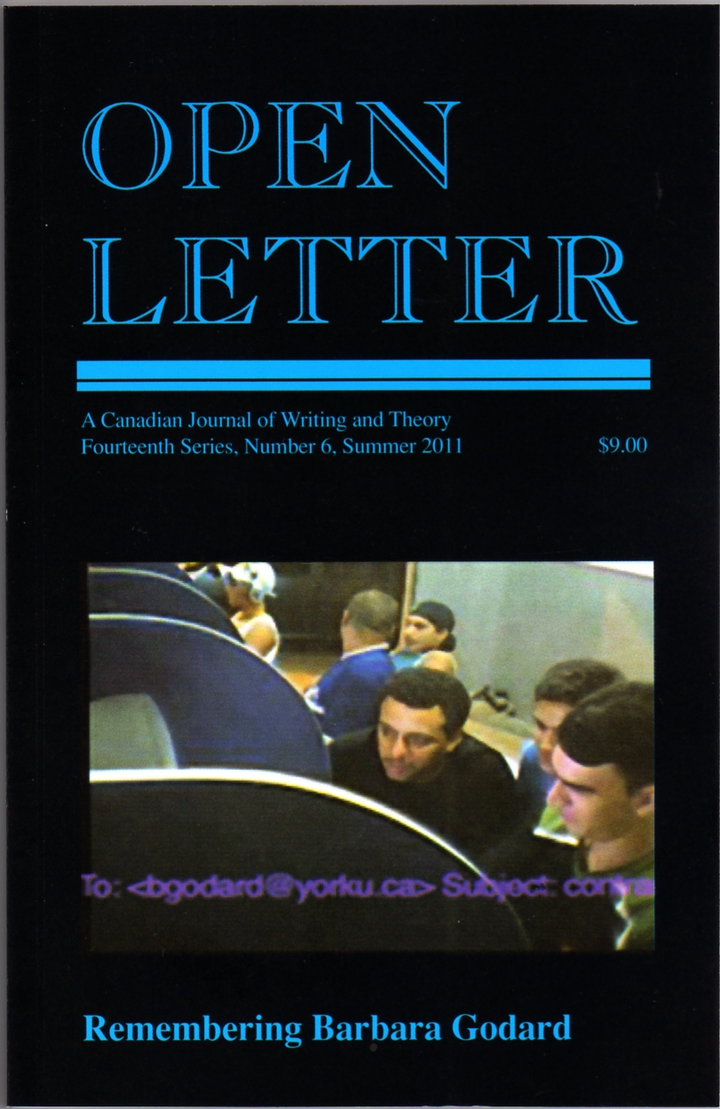 rob mclennan s blog profile on open letter a journal of