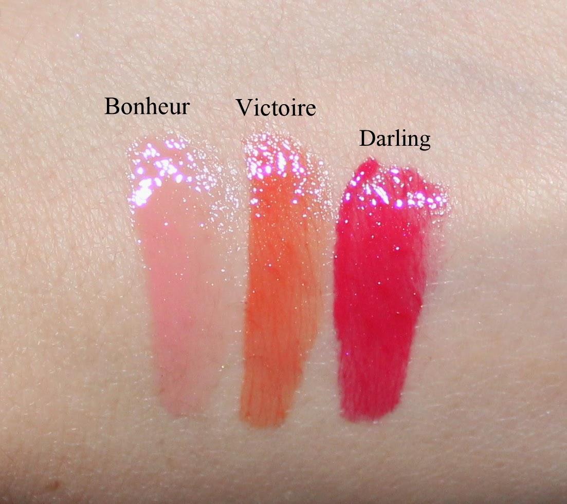 Dior Rouge Dior Brillant in Victoire, Darling, & Bonheur