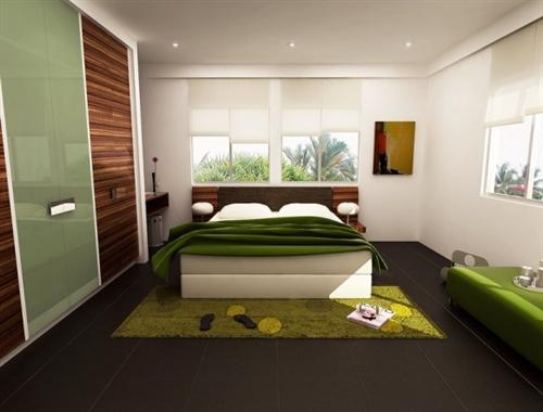 Dormitorios de color verde dormitorios con estilo - Dormitorio verde ...