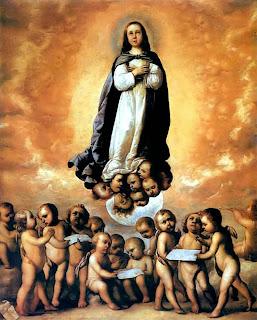 Z13 Francisco de Zurbarán -Inmaculada Concepción niña 1656 - Colección Plácido Arango