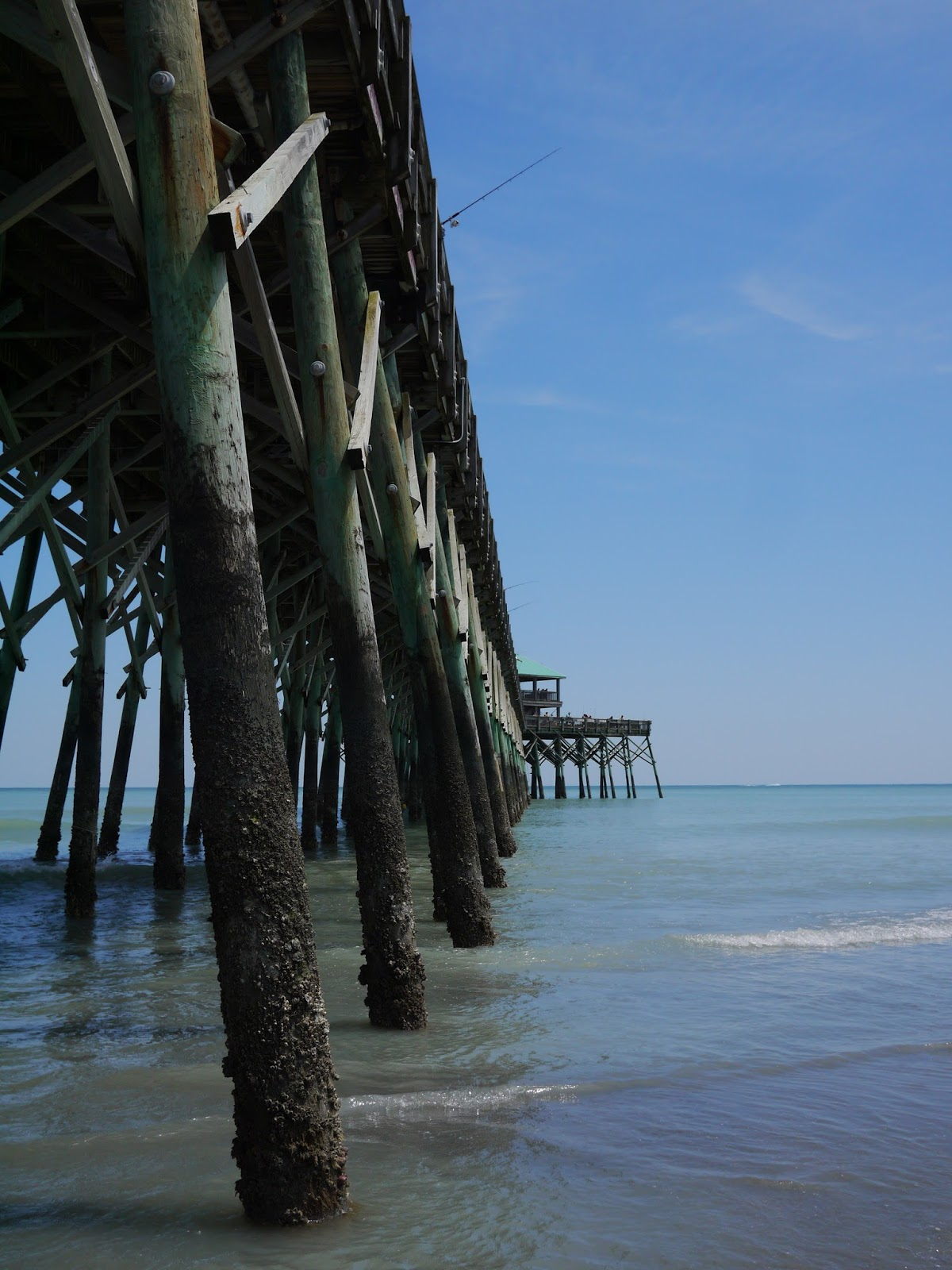 Folly Beach in Blue