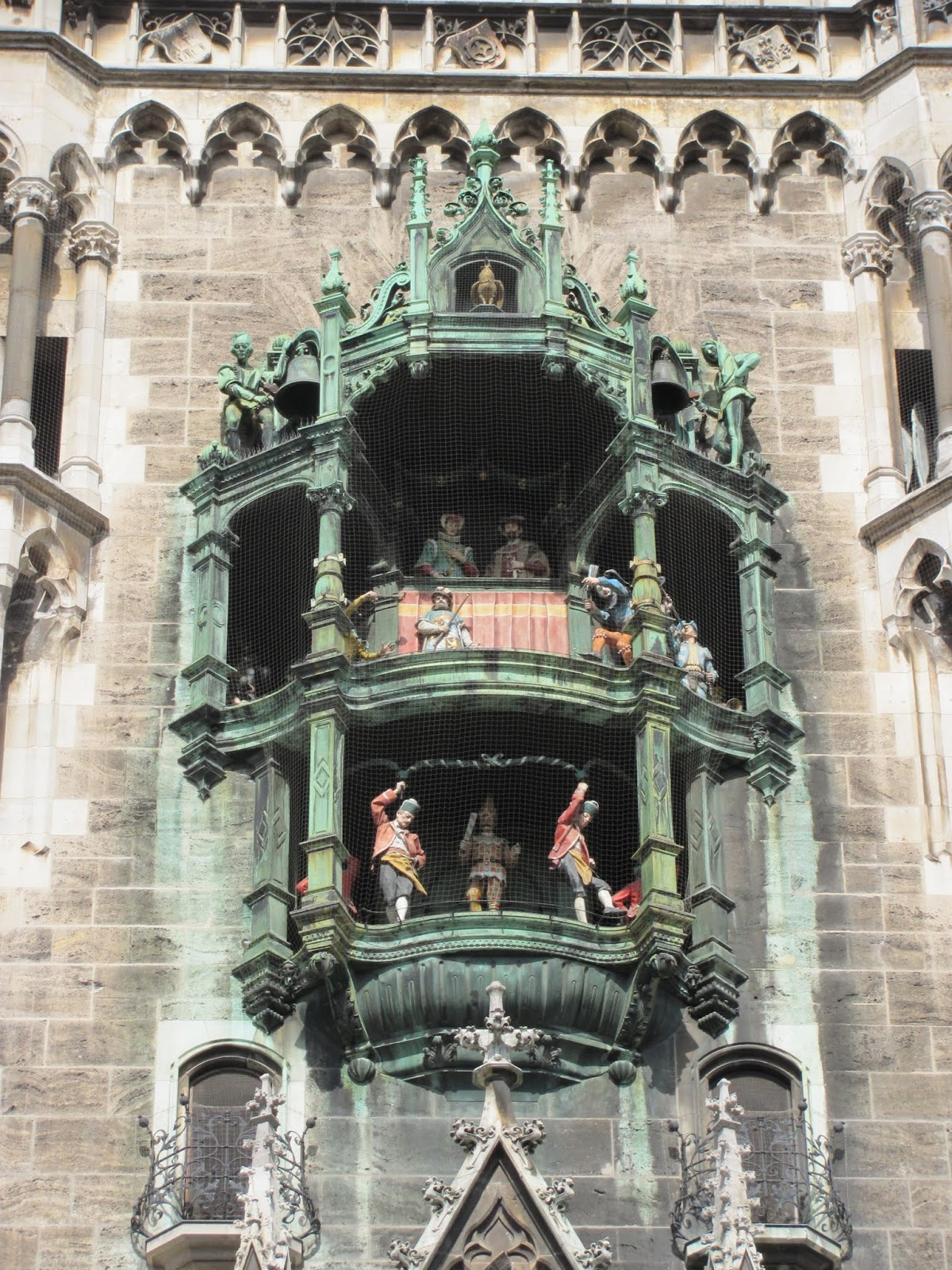 New Town Hall Glockenspiel Munich